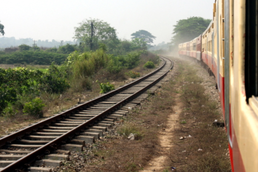 Myanmar: Train to Bago