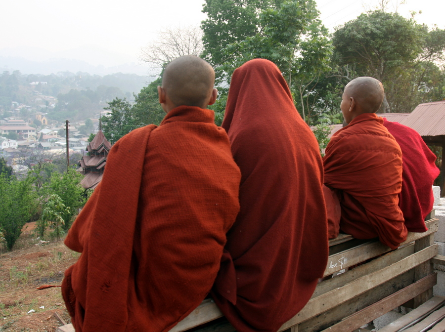 Myanmar: Monks in Kalaw
