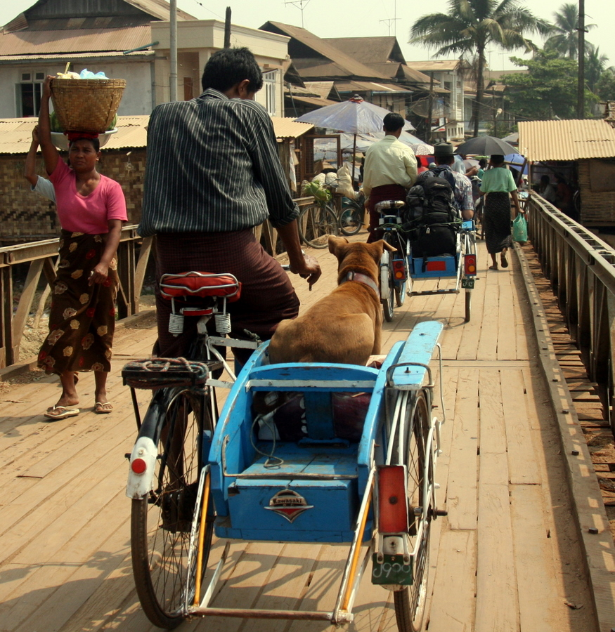 Myanmar: Local Transport