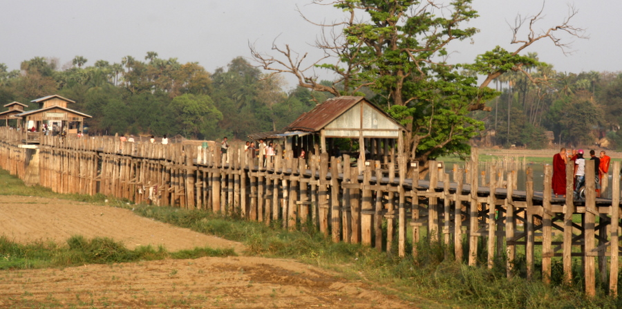Myanmar: Wooden Bridge
