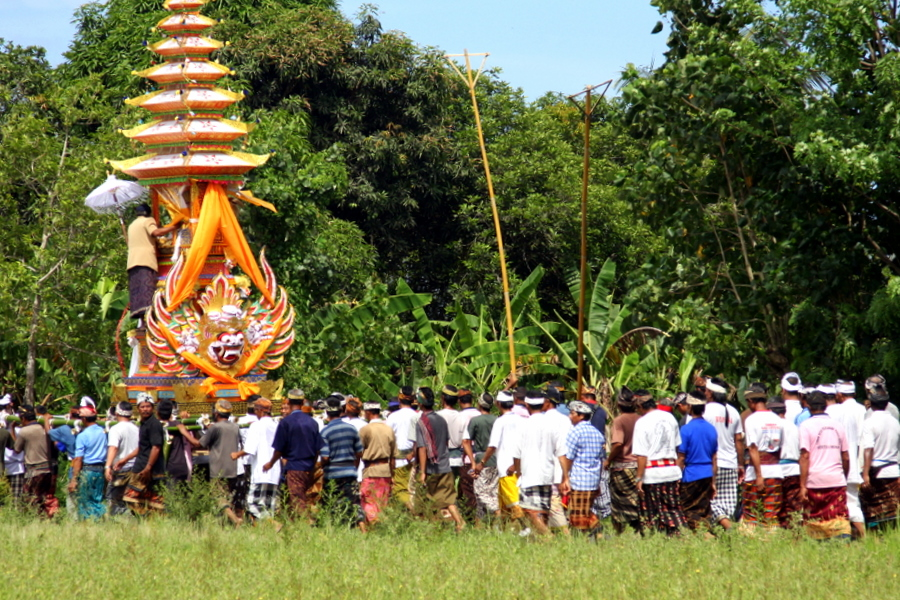 Bali: Yeh Gangga Ceremony