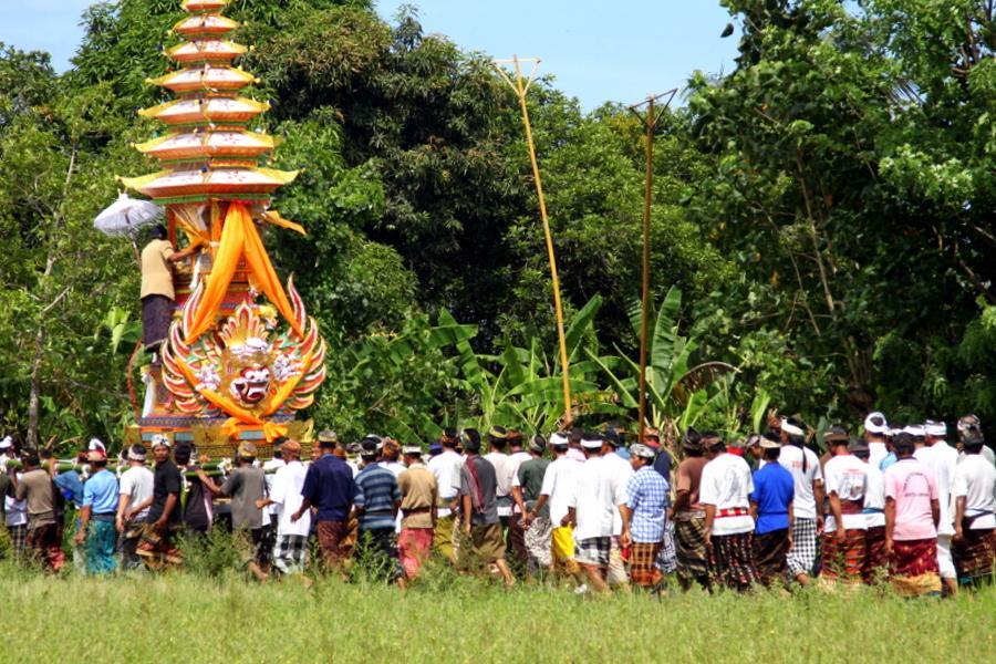 Bali: Yeh Gangga Ceremony