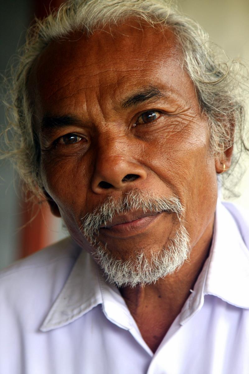 Important Balinese Man