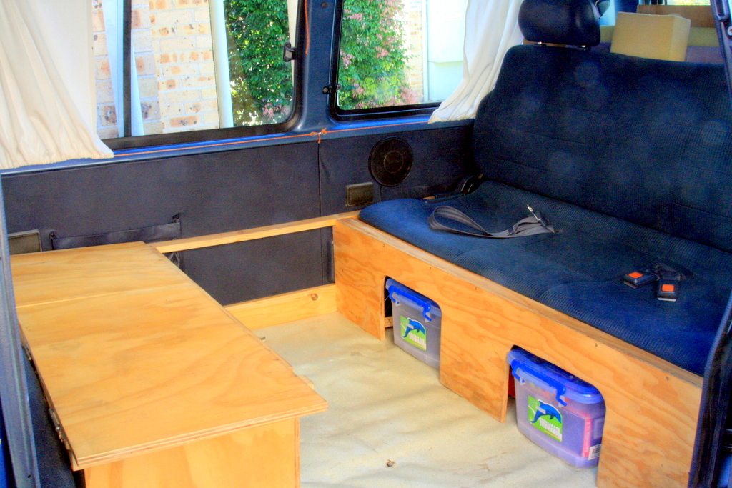 Seats Inside Campervan