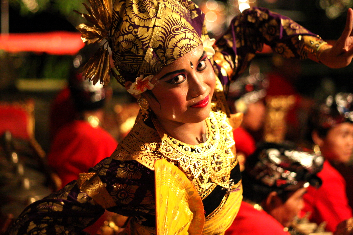 Balinese Dancer (Copyright by SitDownDisco.com)