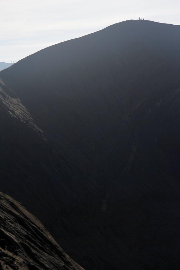 Huge, active volcano, Gunung Bromo