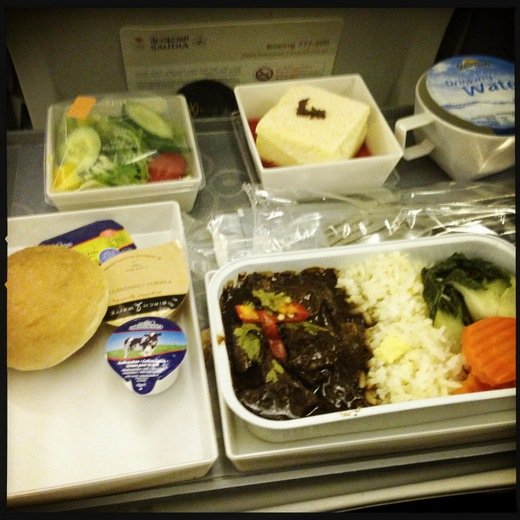 Food on Saudi Arabian Airlines