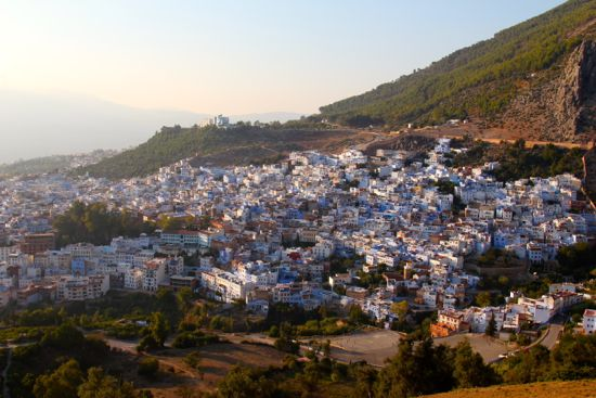 Chefchaouen at dusk