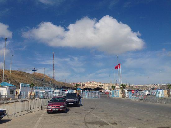 Morocco Ceuta border