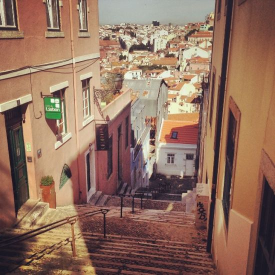Stairs of Lisbon