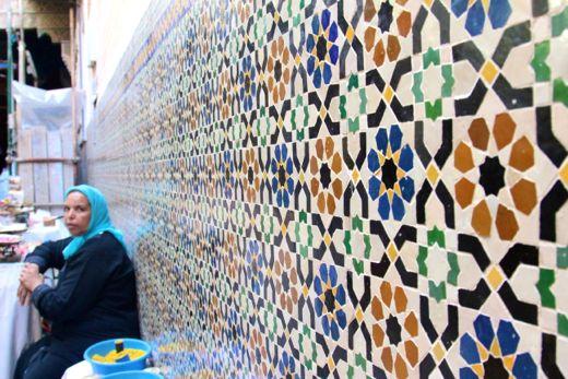 Tiles in Fez