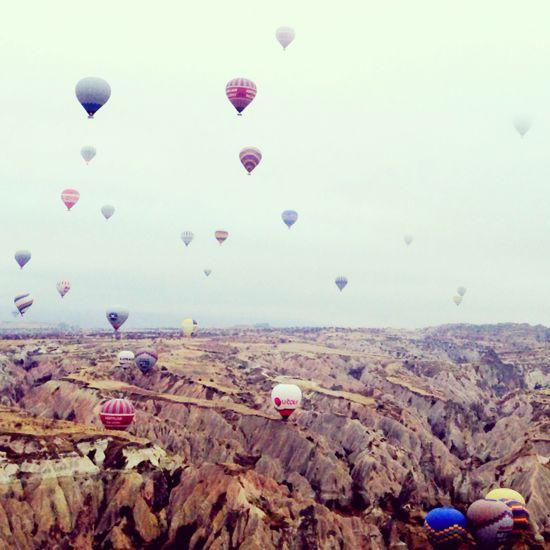 Cappadocia was truly marvellous