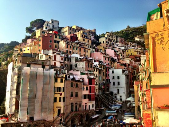 Cinque Terre - beautiful towns on a rocky coast