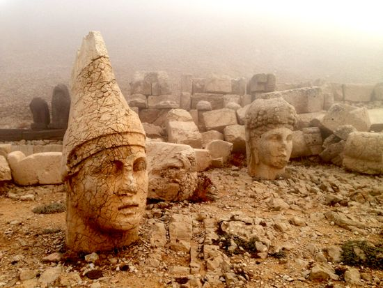 Mount Nemrut - world heritage and totally empty