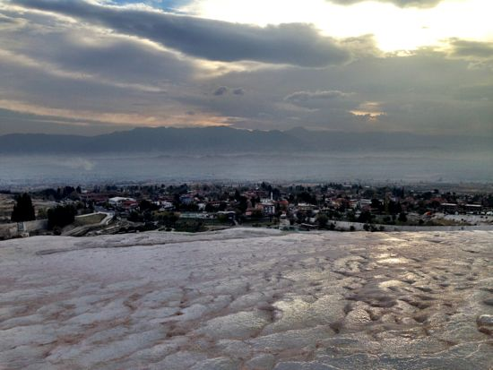 Pamukkale - pretty cool place, heavily touristed