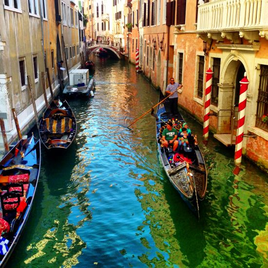 Venice - total tourist trap, but you have to go