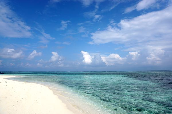 The beaches of the Maldives are incredible. But now everyone can enjoy them!