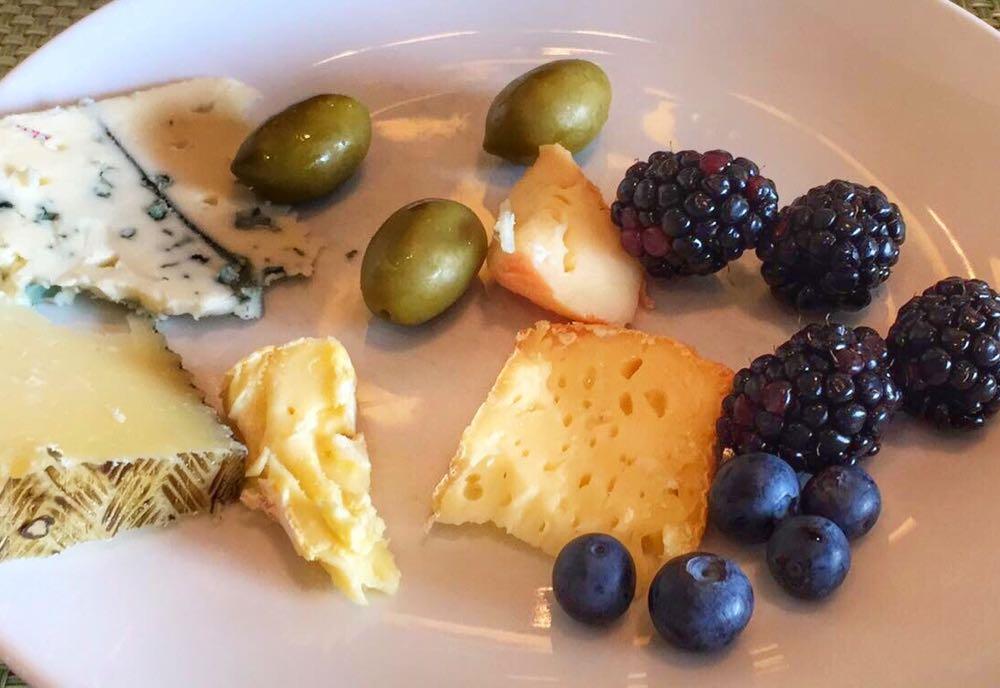 Millennium Hilton Bangkok Christmas Buffet Cheese Plate