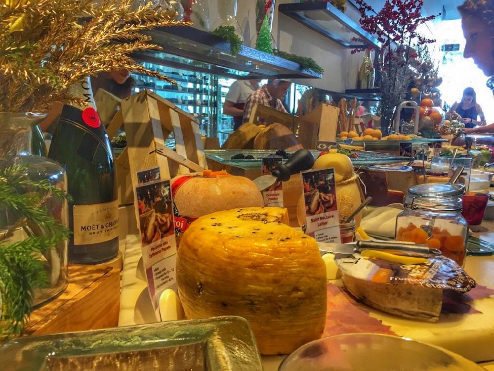 Millennium Hilton Bangkok Christmas Buffet Cheese Room