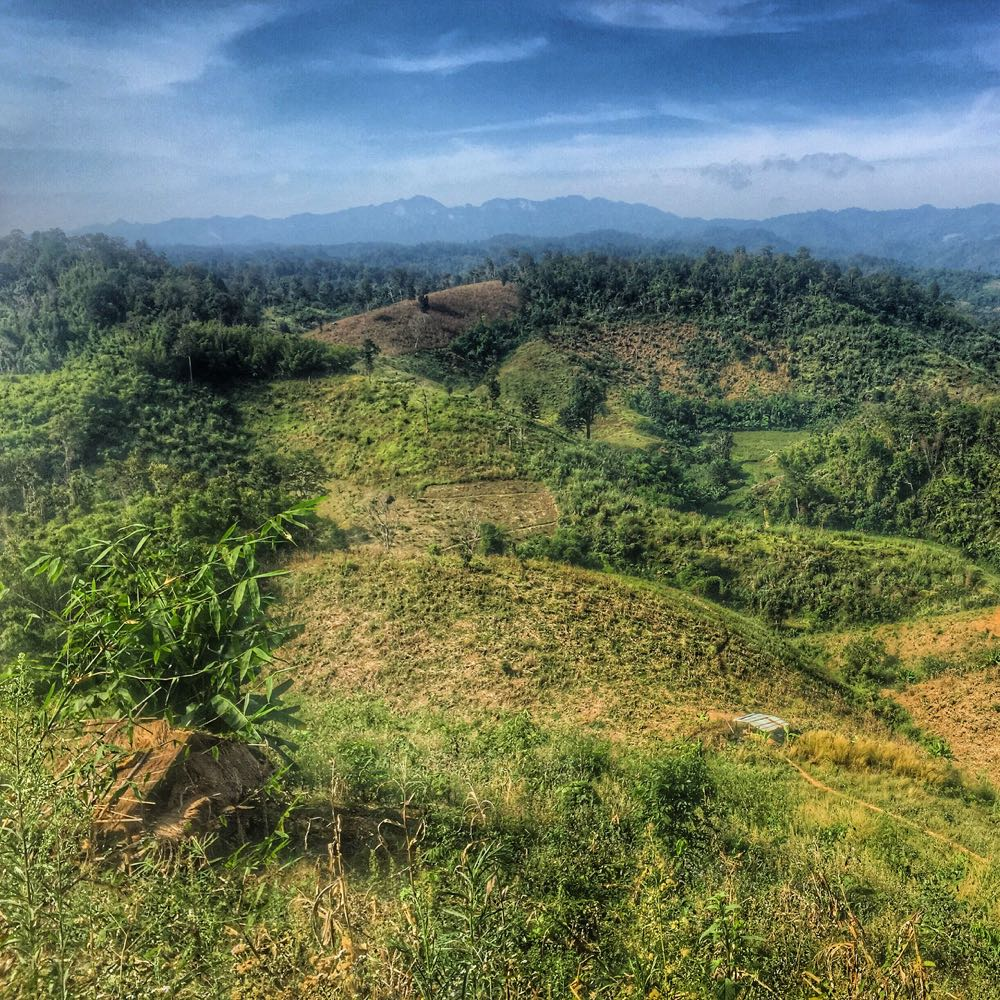 Northern Thailand View