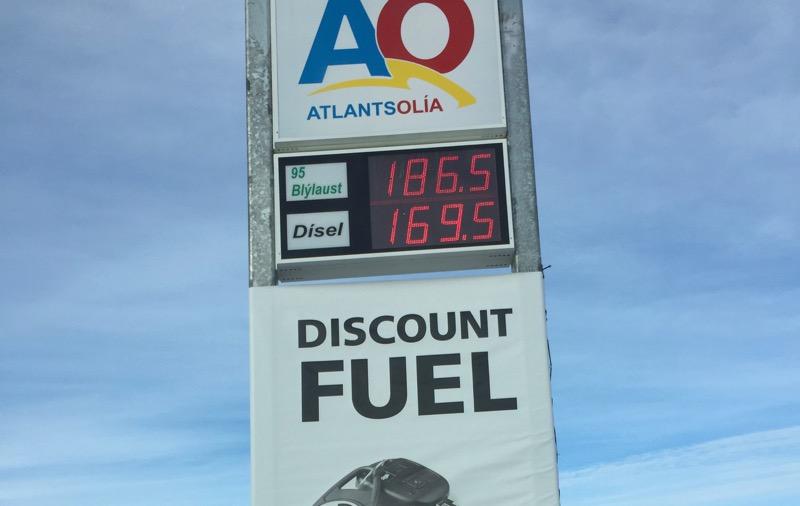 Iceland Fuel Price