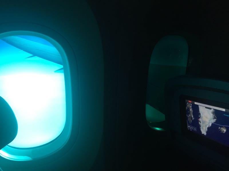 Norwegian B787 window