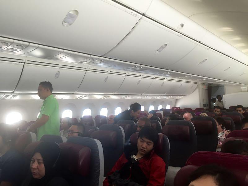 Qatar economy cabin