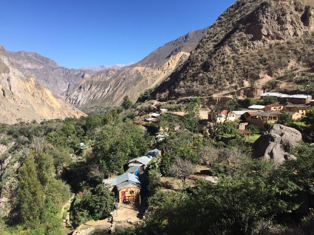 Colca Canyon San Juan