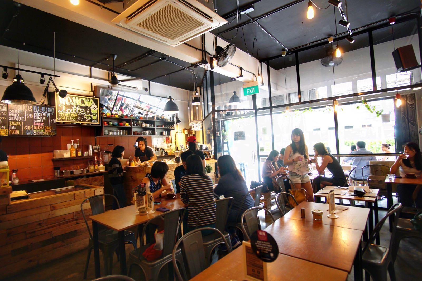 Tolido's Espresso Nook Bugis Singapore inside