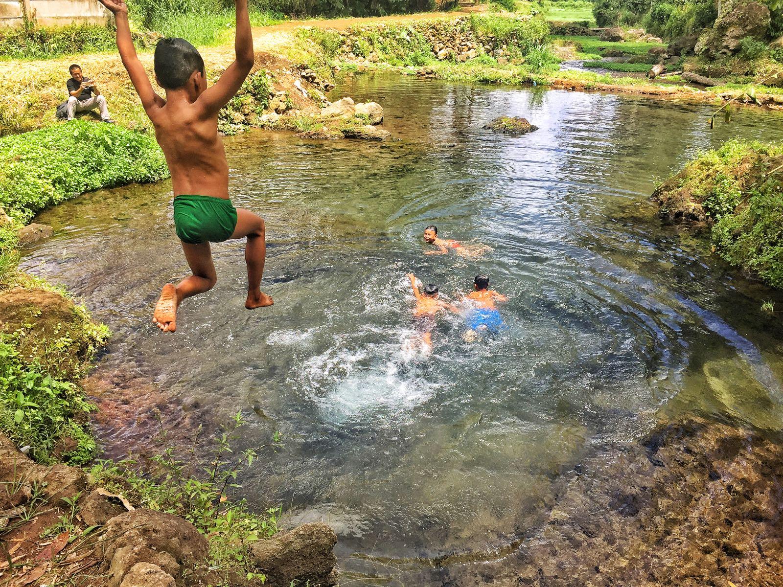 Pagar Alam Kids Playing