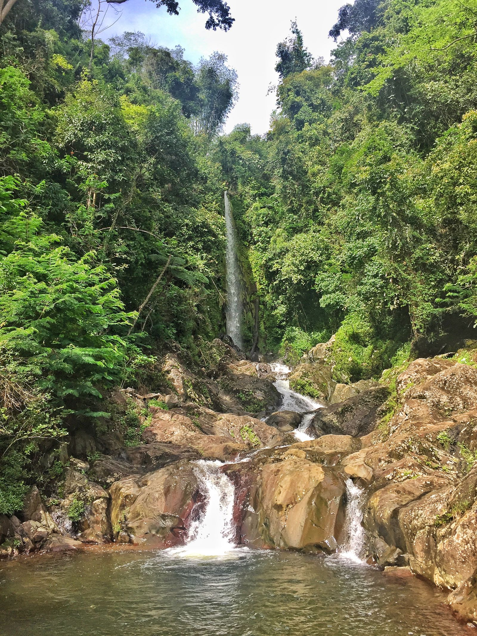 Pagar Alam Waterfall