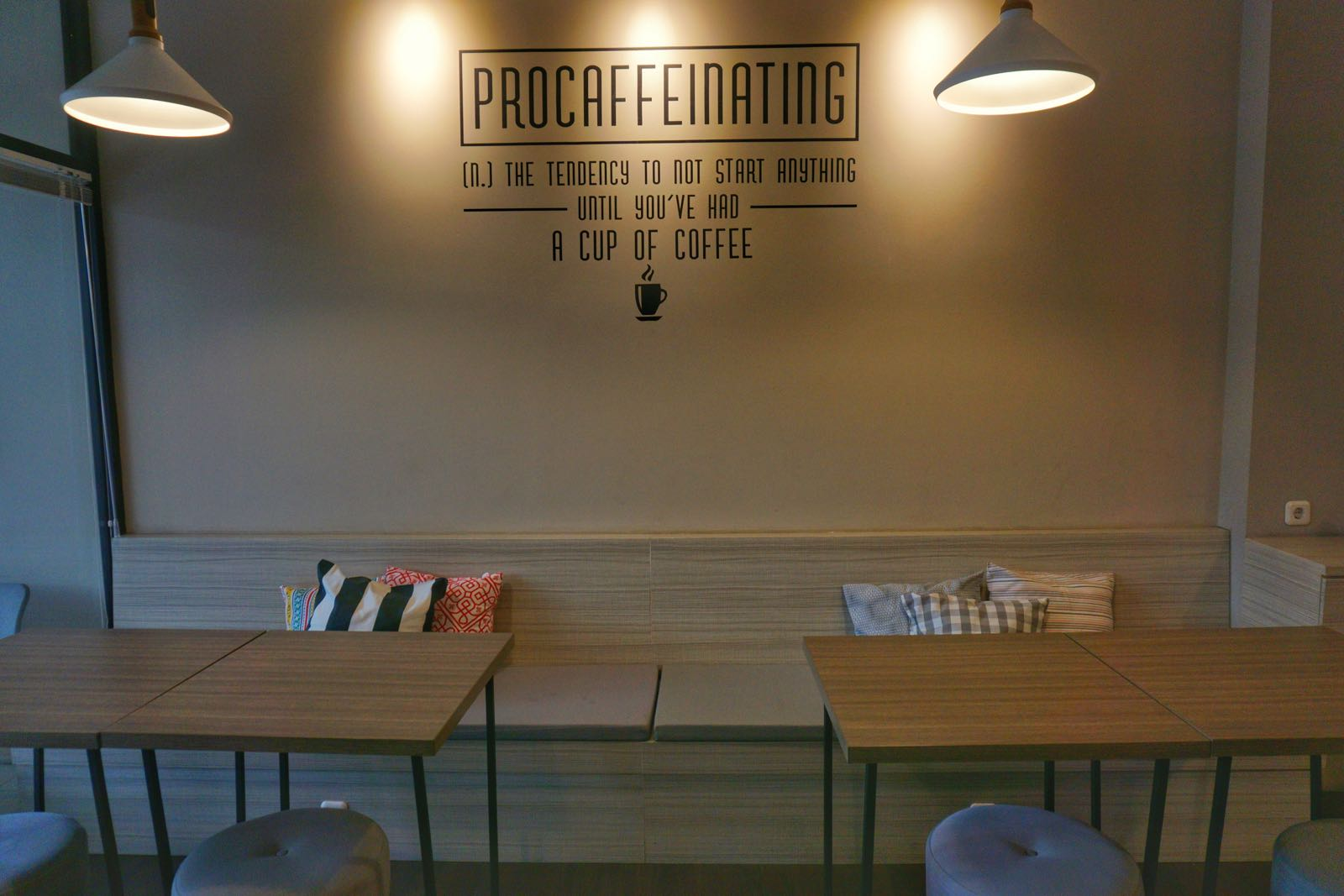 Inside Lighthouse Coffee Bandung