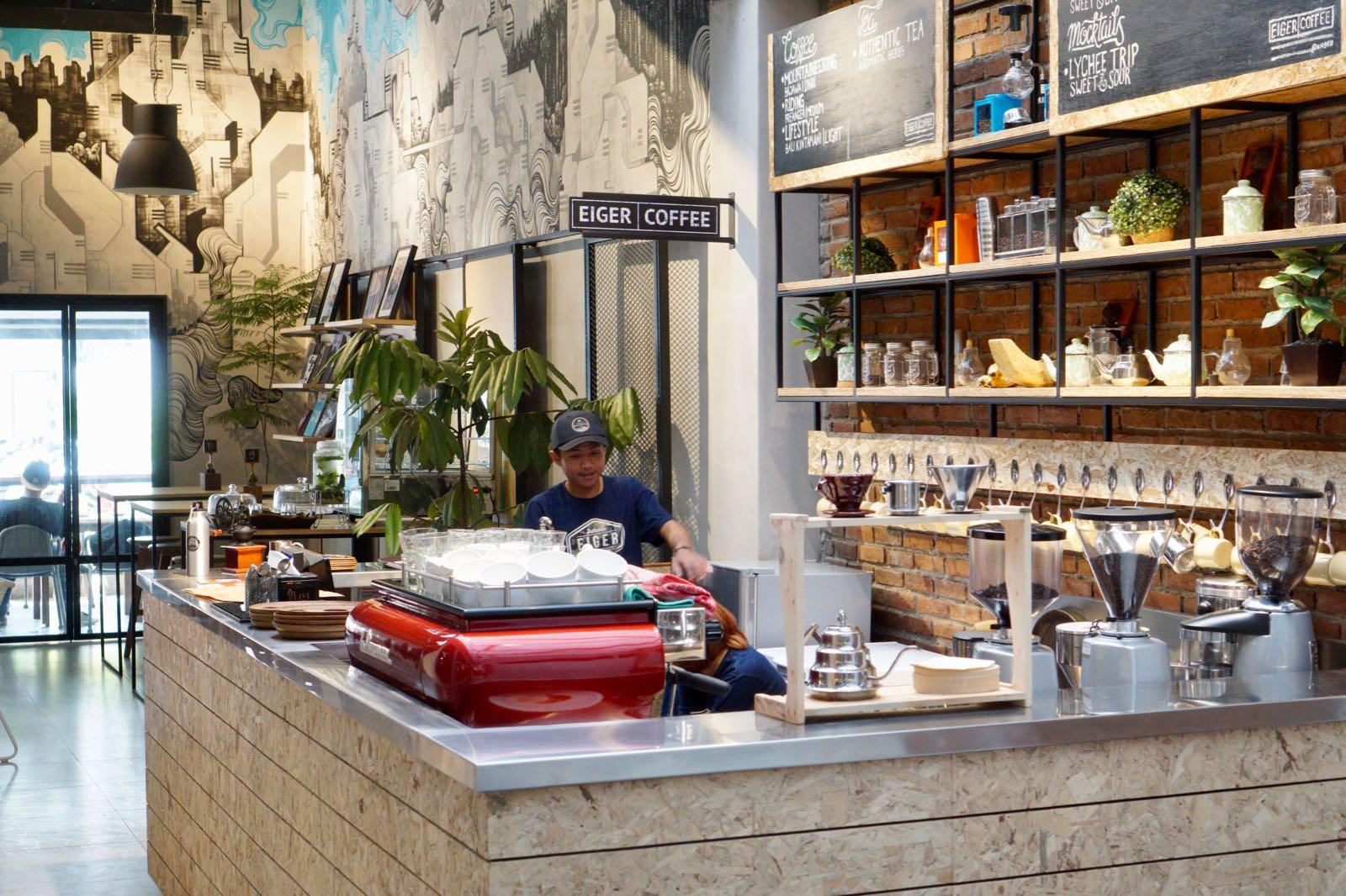 Coffee bar Eiger coffee