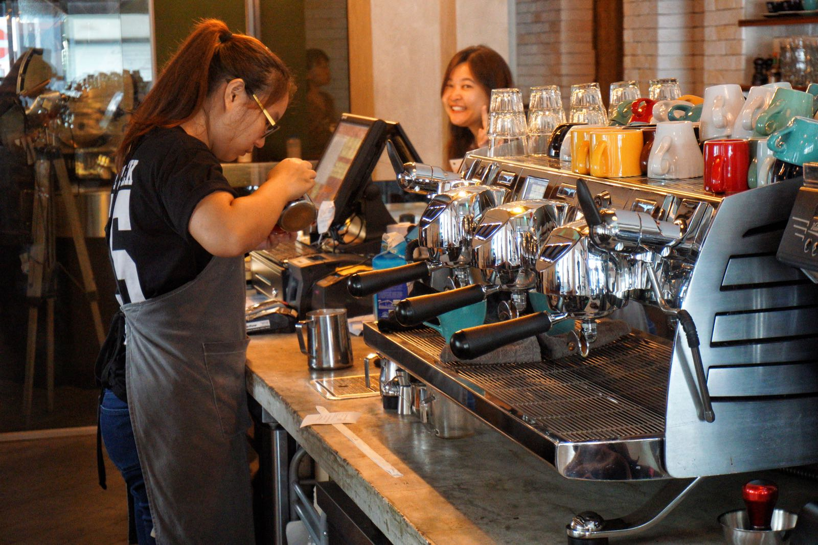 A.R.C Academy Roastery Cafe Bugis Singapore Coffee Machine