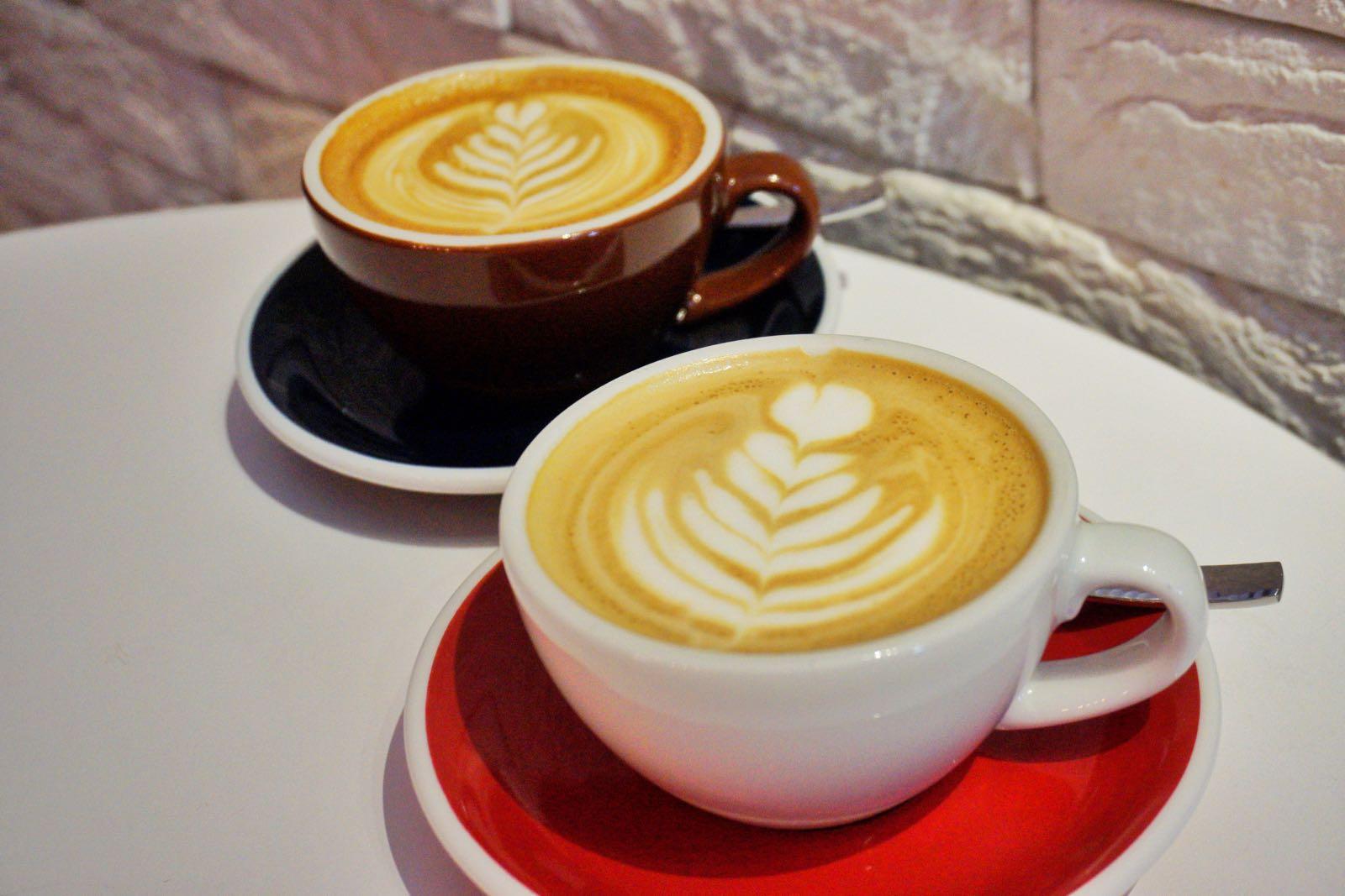A.R.C Academy Roastery Cafe Bugis Singapore cappuccino