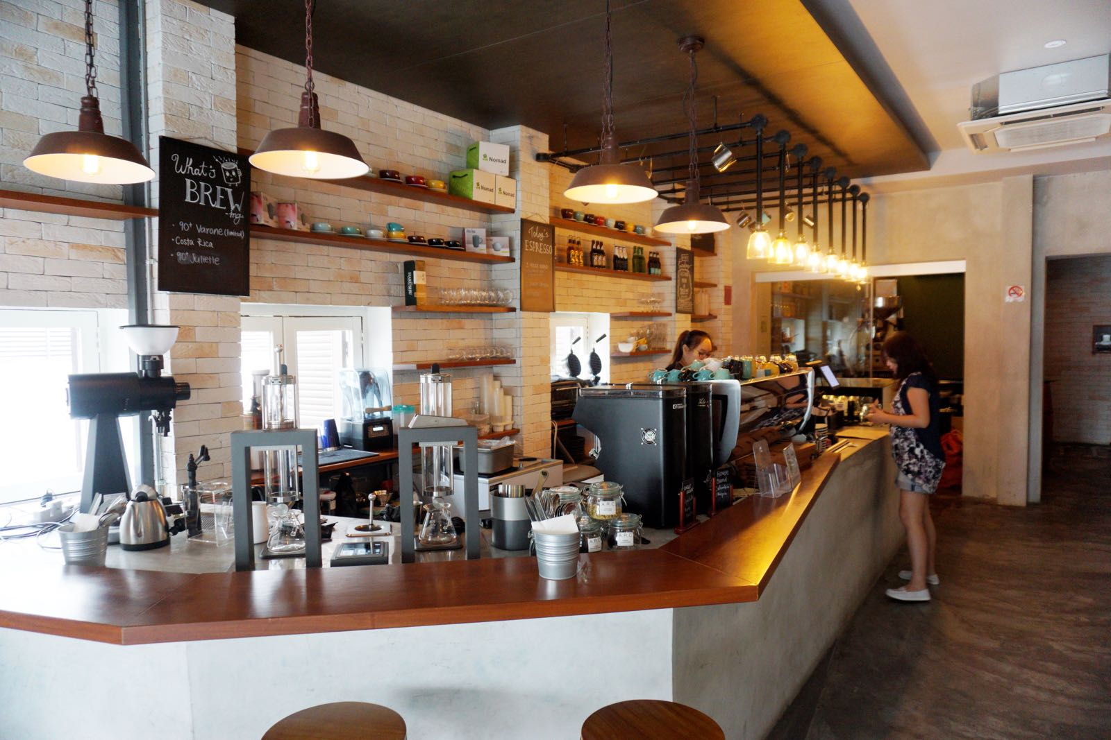 A.R.C Academy Roastery Cafe Bugis Singapore inside