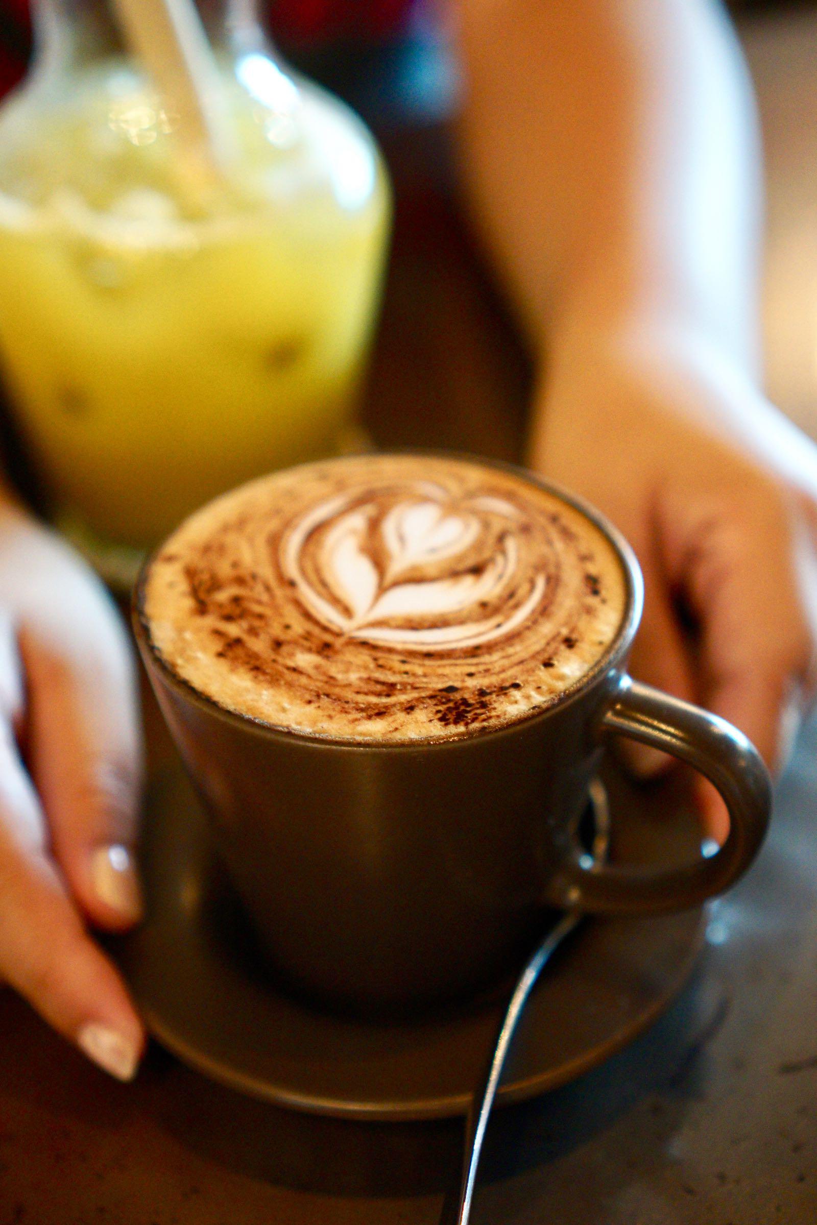 Coffee at Fat Turtle Bali