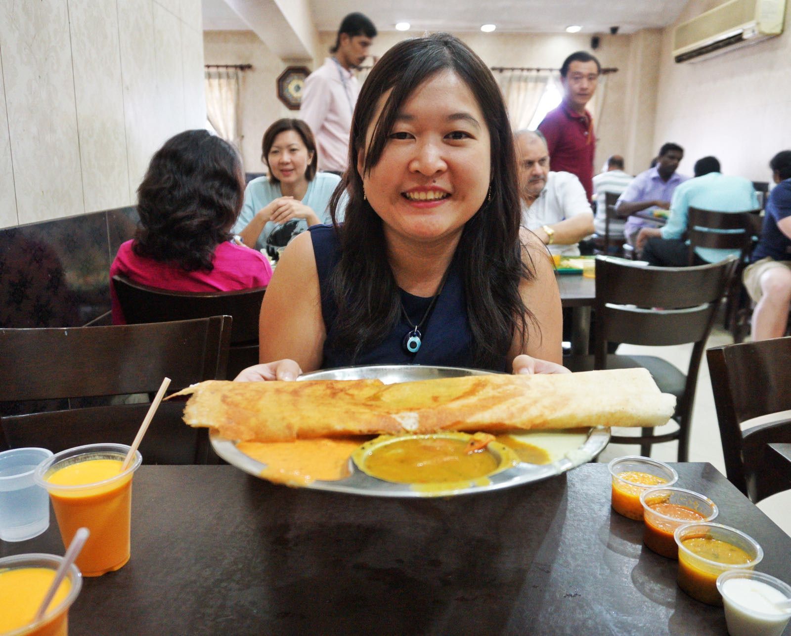 Komala Vilas Little India Singapore dosai