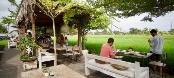 Ricefield view Nook Umalas