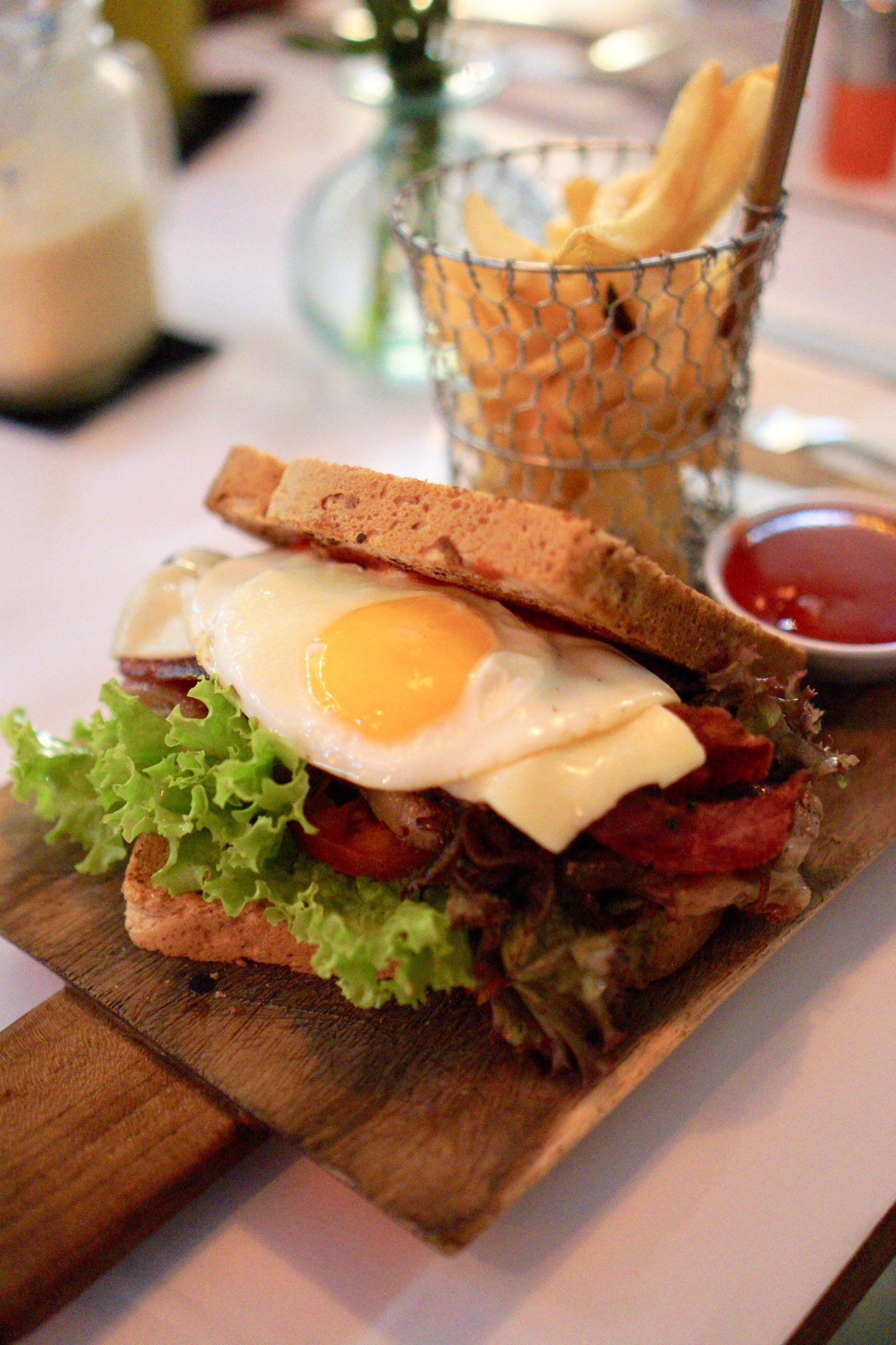 Steak Sandwich Grain Cafe