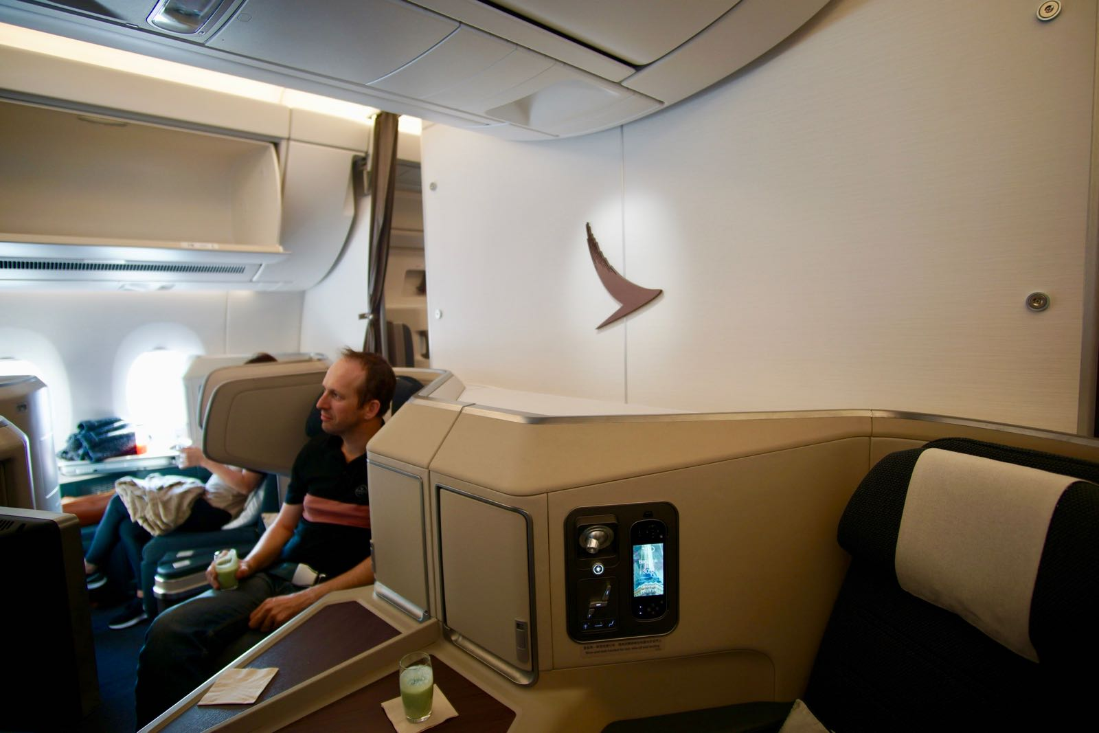 Cathay Pacific A350 Business Class Cabin