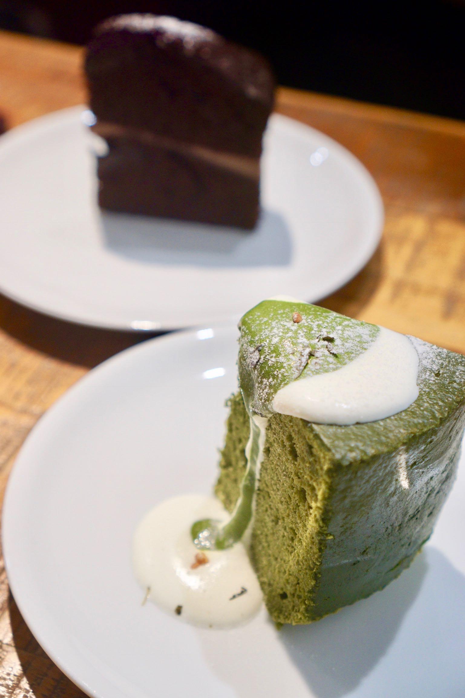 Cafe Laku Laku Taipei cakes