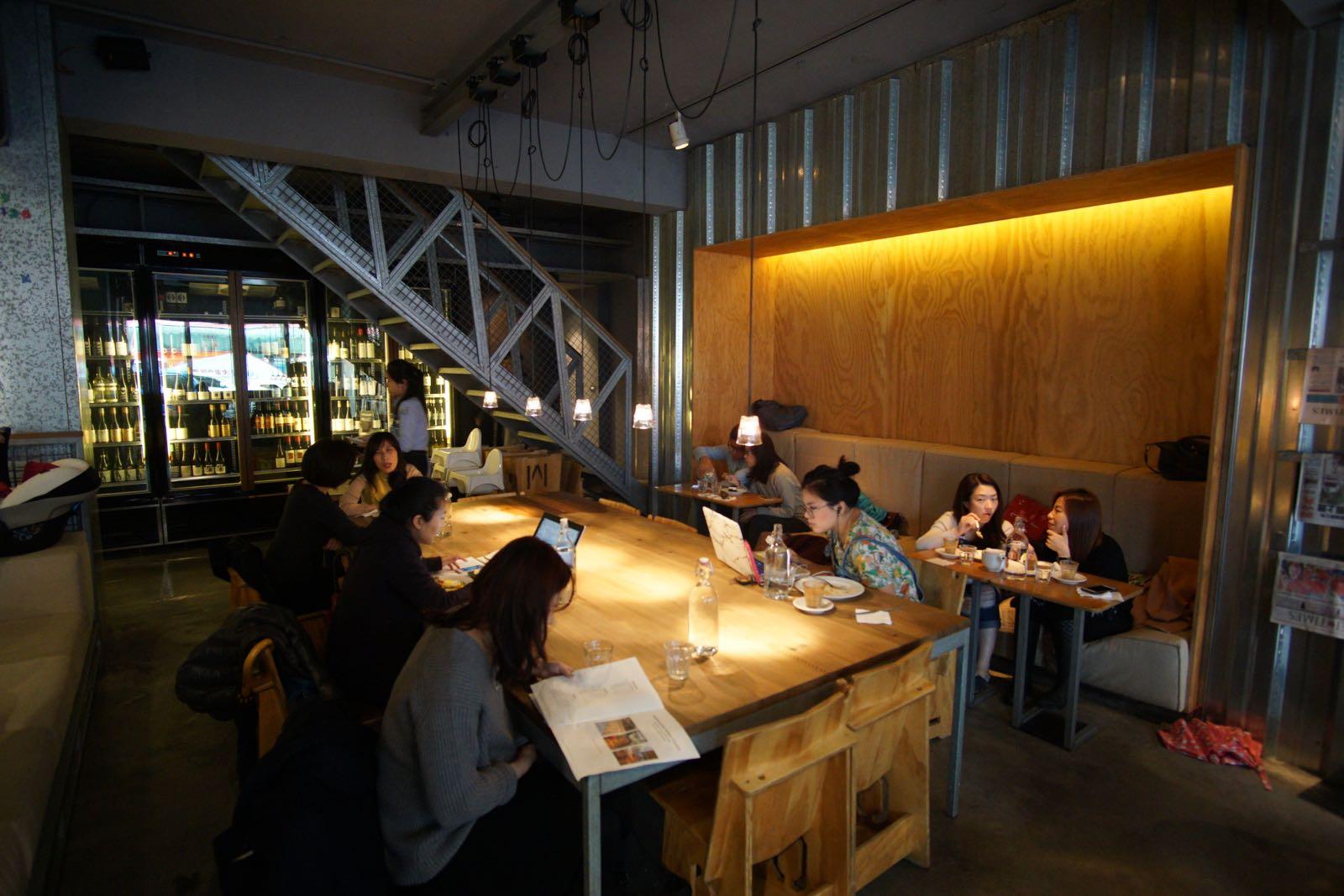 Woolloomooloo Cafe Taipei Interior