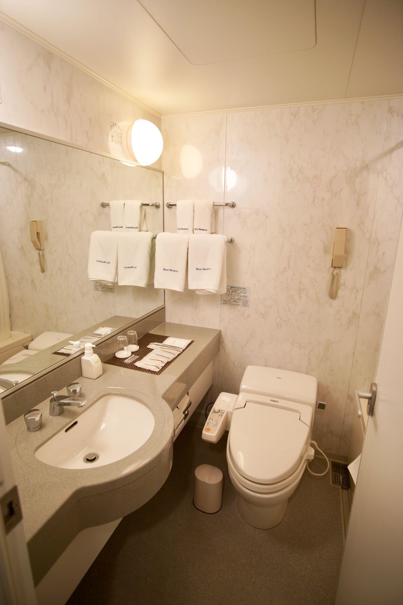 Bathroom Best Western Takayama