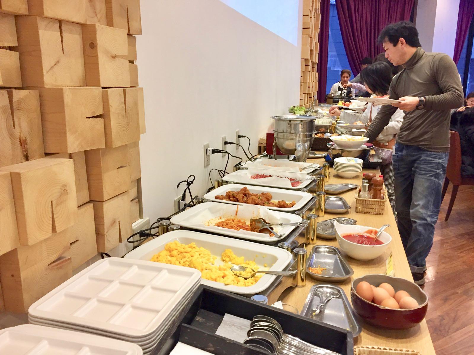Breakfast buffet Best Western Takayama