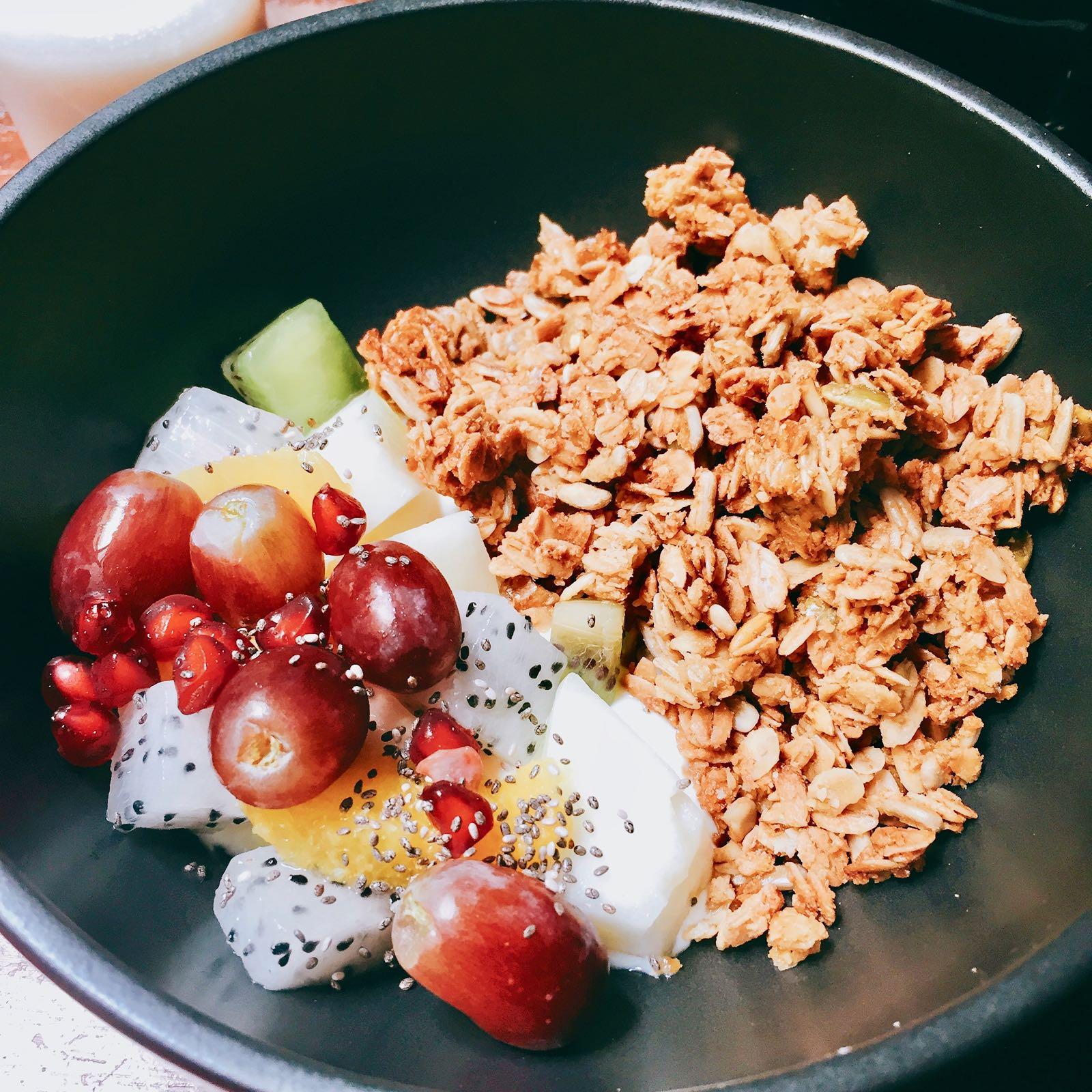 Breakfast Granola at VCR Kuala Lumpur