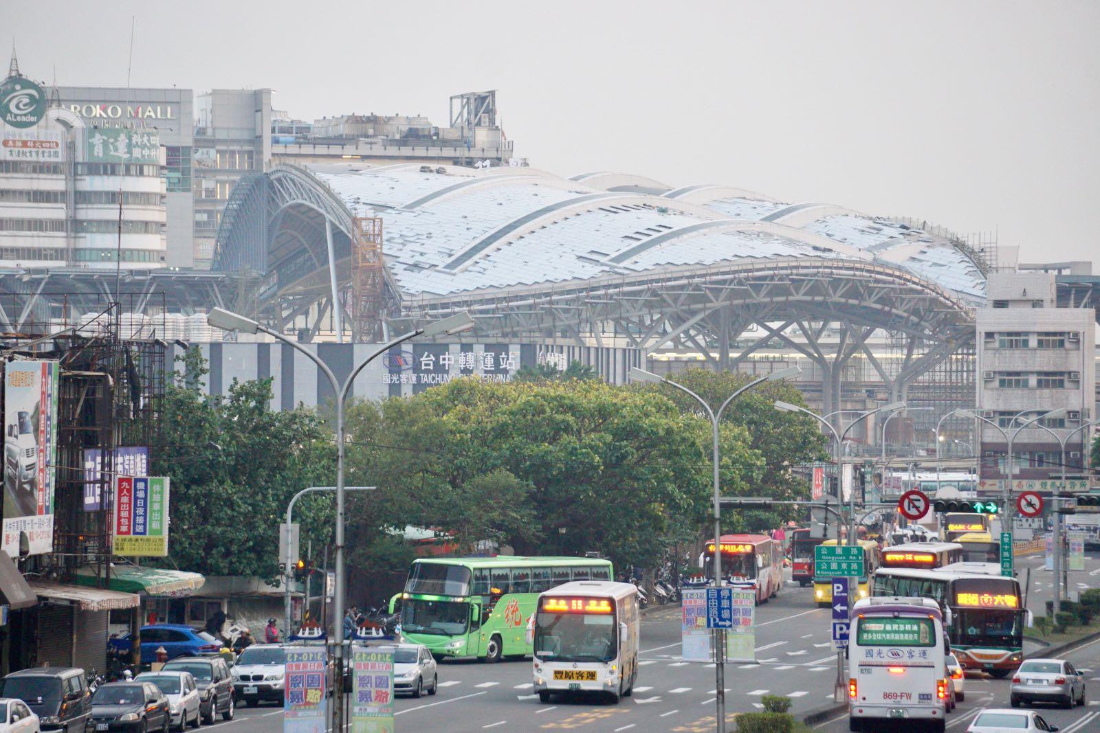 Taichung City scene