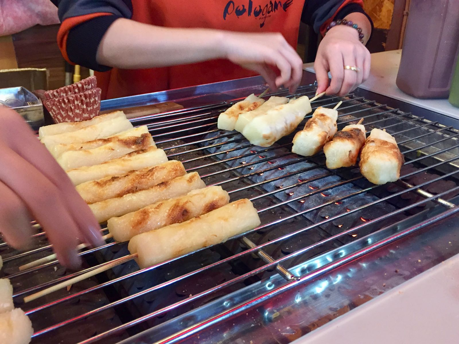 grilled mochi taipei
