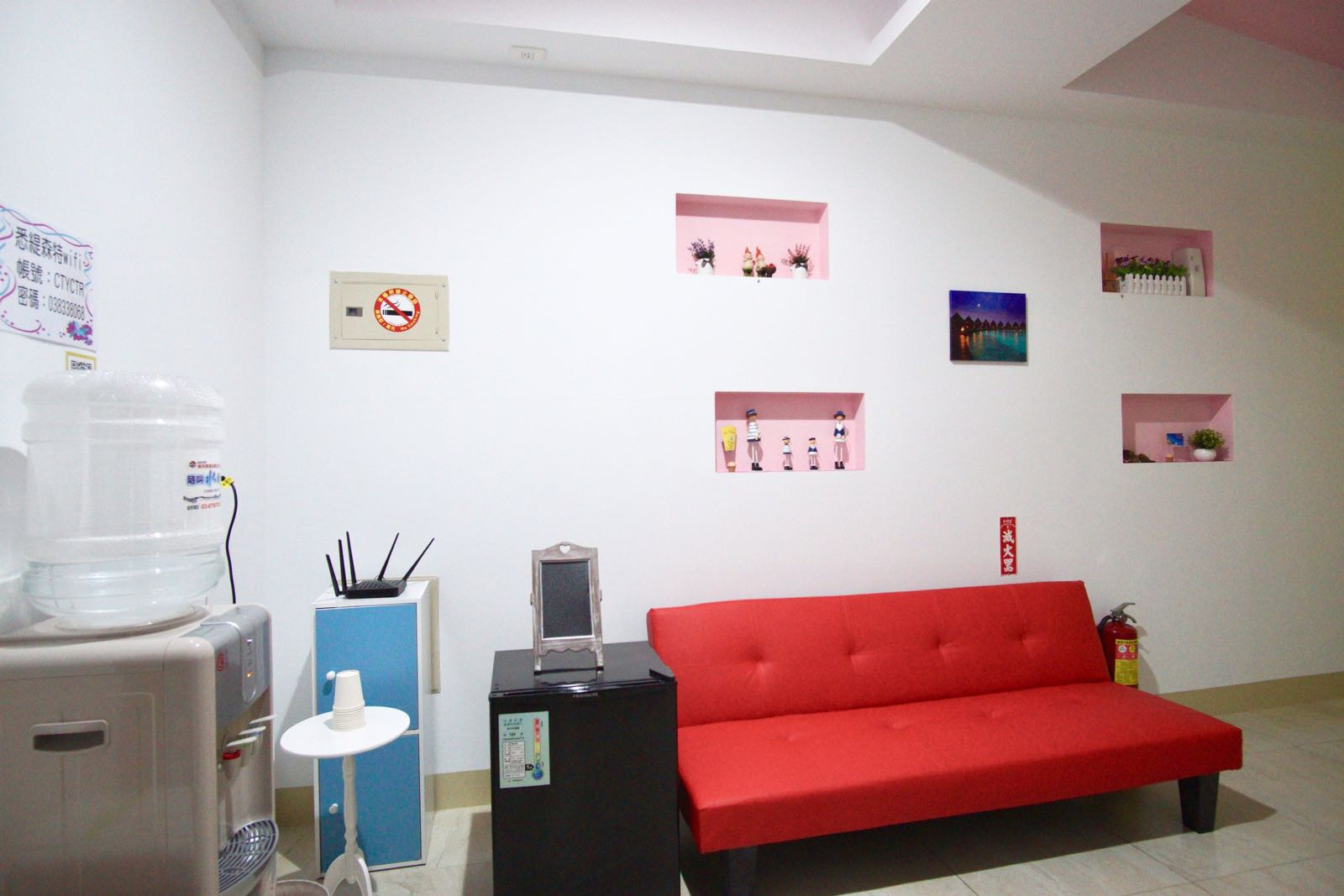 City Center Homestay Hualien Common Area