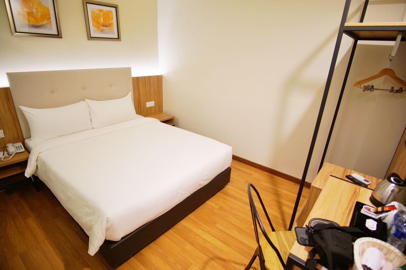 Big M Hotel Kuala Lumpur Bed